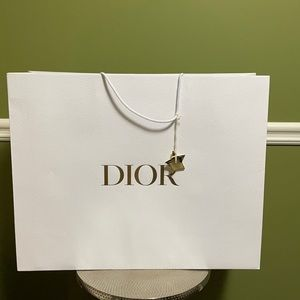 Huge Authentic Dior shopping bag